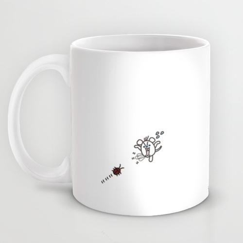 マシュマロデッパのマグカップ