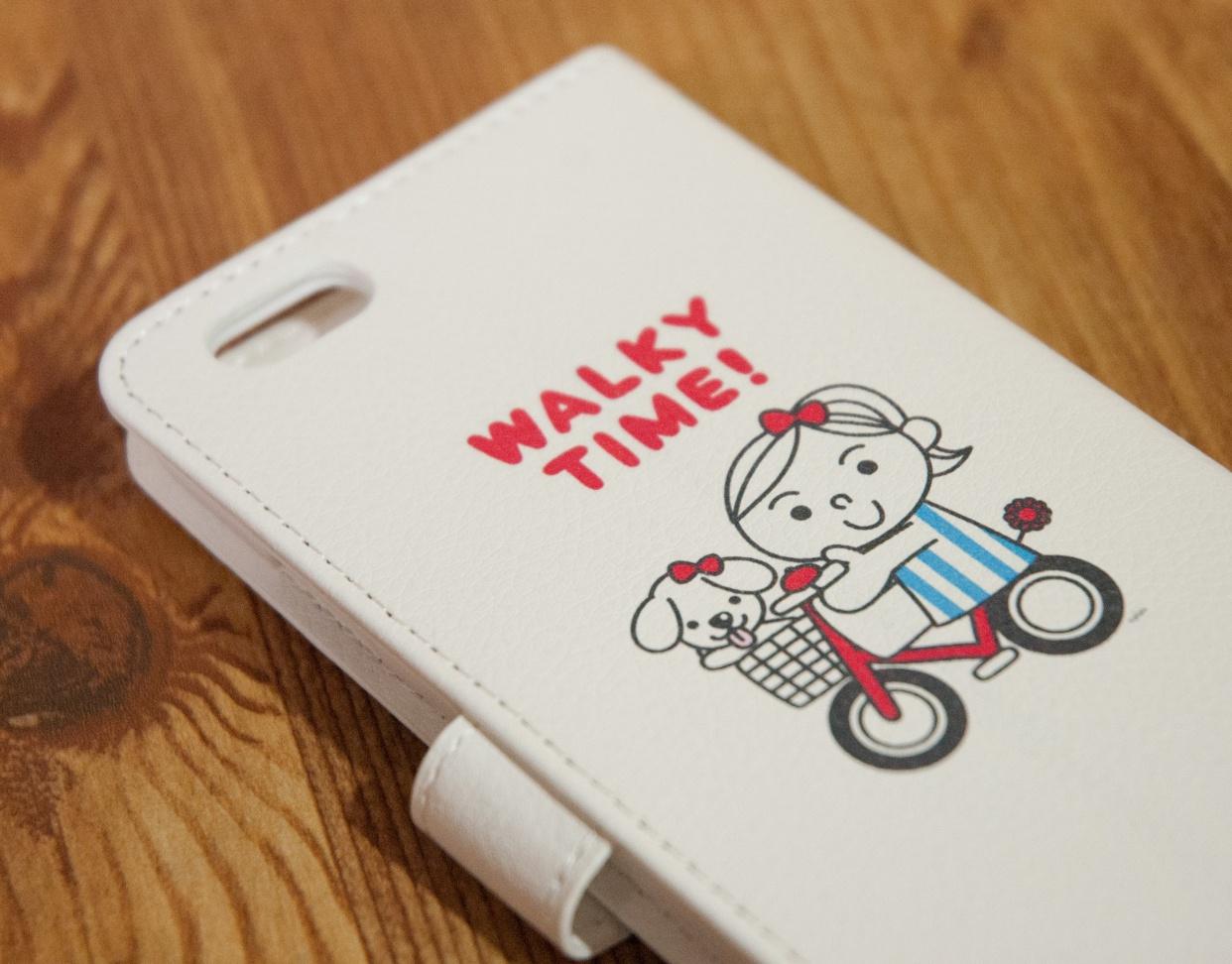 DAISYの手帳型iPhoneケース試作品 第1号