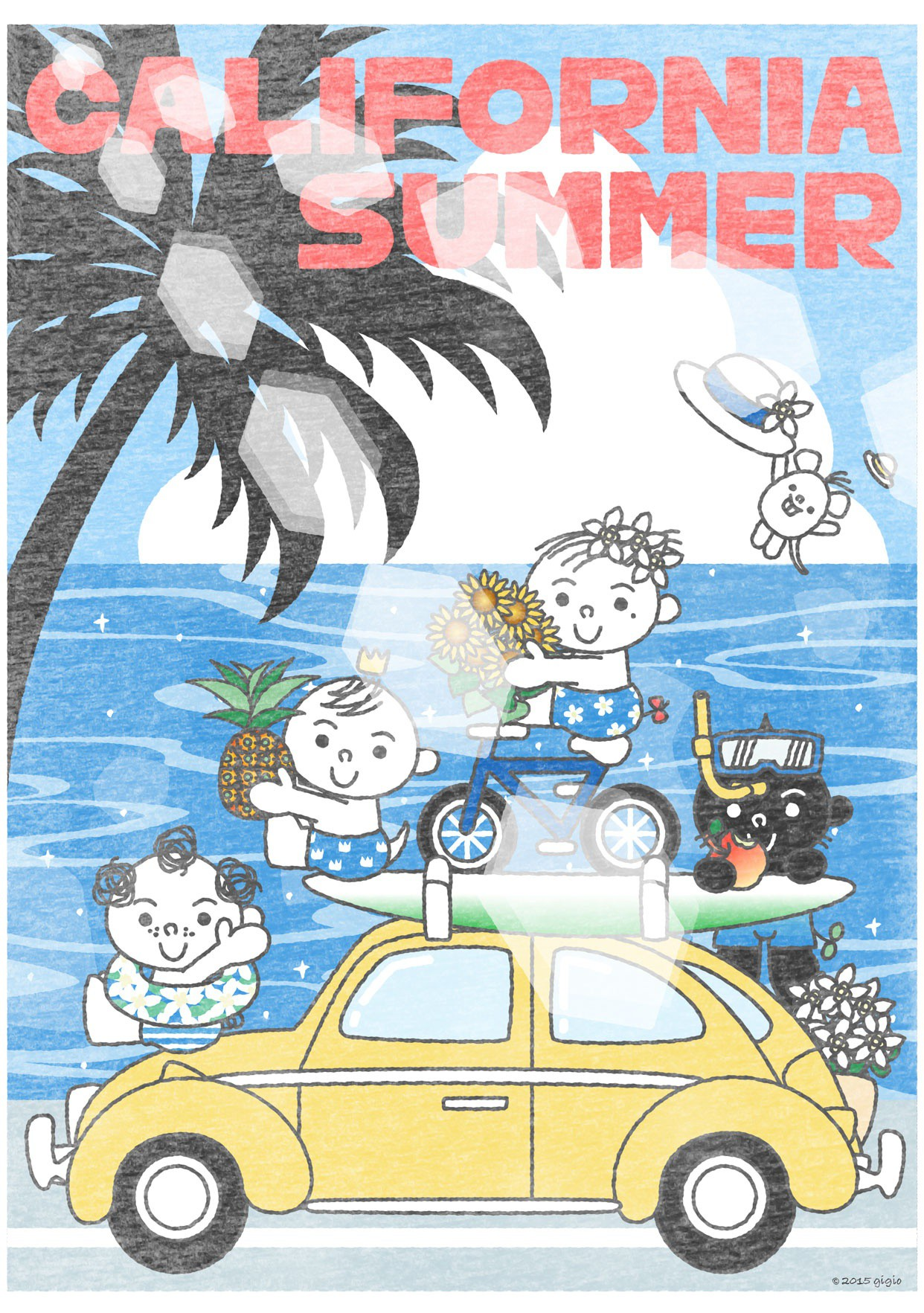"UT ""TOTTO'S CALIFORNIA SUMMER – SUN SHINE""の詳細"