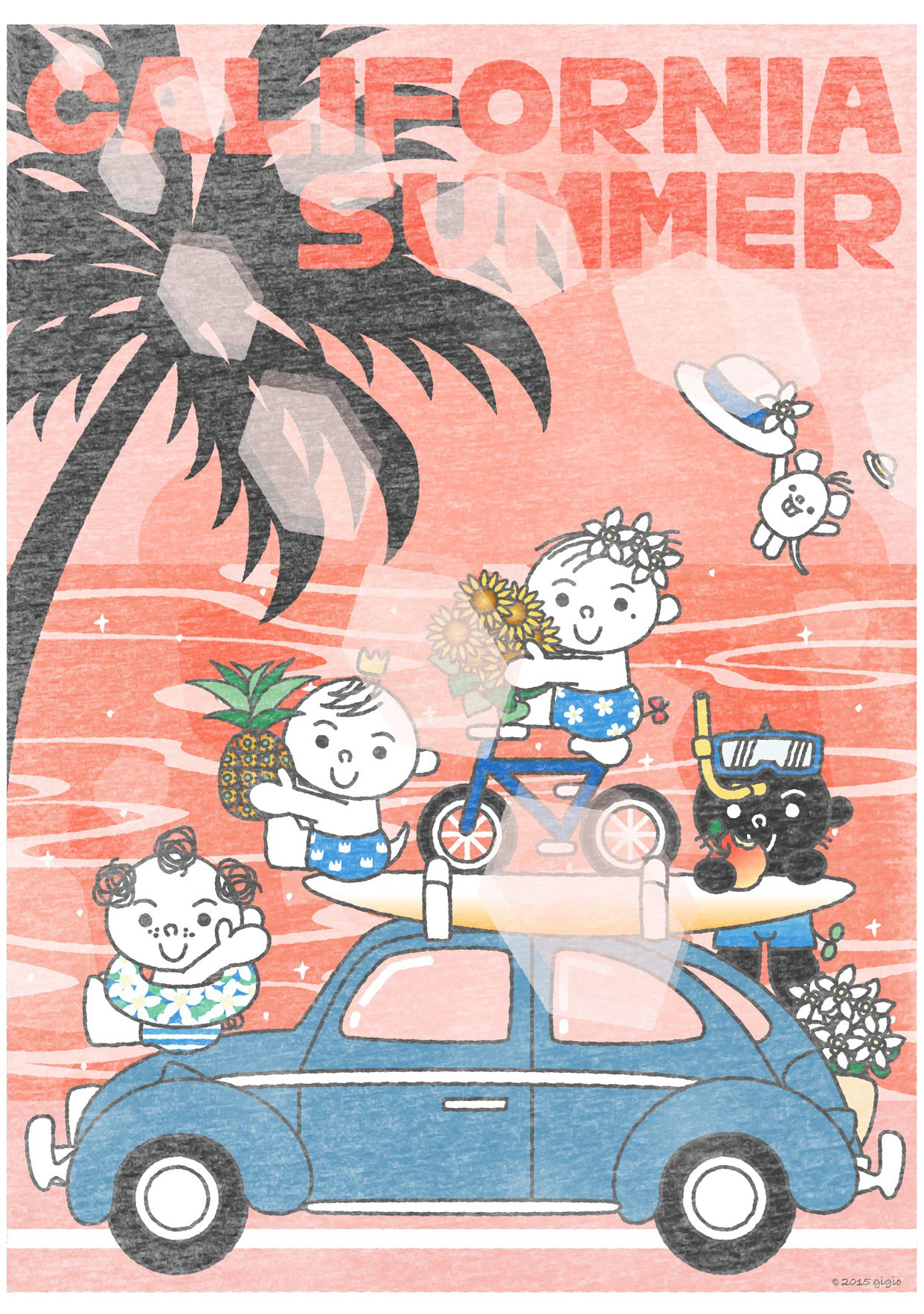 "UT ""TOTTO'S CALIFORNIA SUMMER – SUNSET""の詳細"