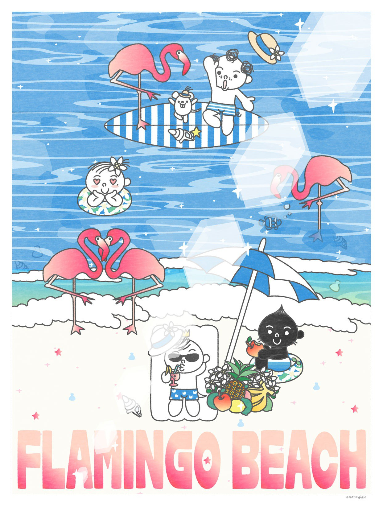 "UT ""TOTTO'S FLAMINGO BEACH""の詳細"
