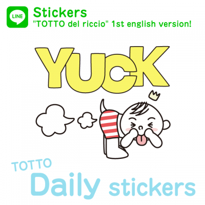 TOTTO daily stickers