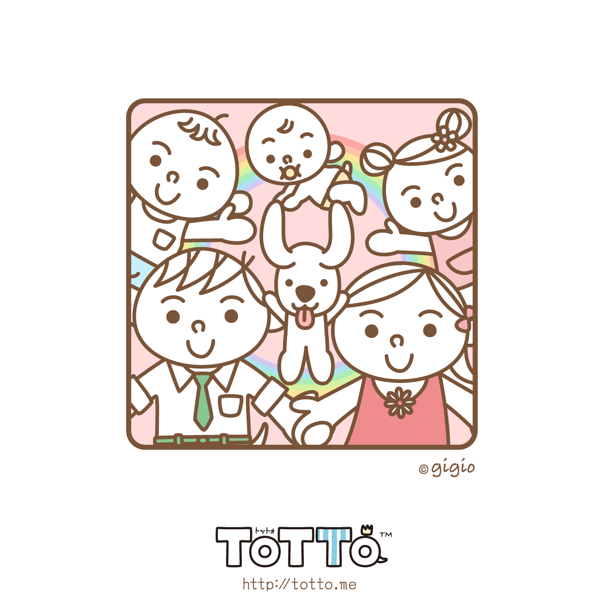 Family & Dog – Adult TOTTO Ver.
