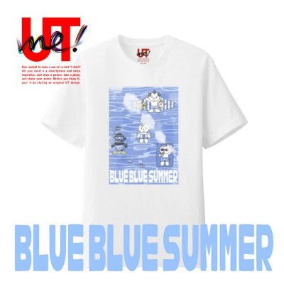 "UT ""TOTTO'S BLUE BLUE SUMMER"""
